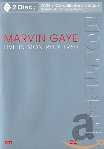 Marvin Gaye - Live in Montreux 1980 (+CD)