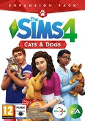 The Sims 4 Cats and Dogs Expansion Pack (PC Download Code in a Box)