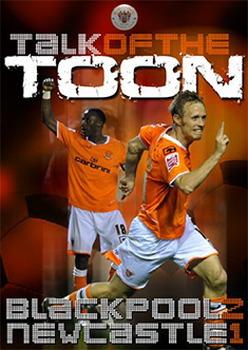 Talk Of The Toon Blackpool 2 Newcastle United 1 (DVD)
