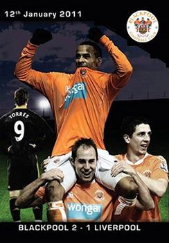 Blackpool 2 Liverpool 1- 12/01/2011 (DVD)