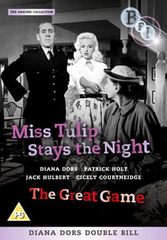 Diana Dors Double Bill: Miss Tulip Stays The Night  & The Great Game (DVD)