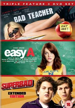 Bad Teacher / Easy A / Superbad (DVD)
