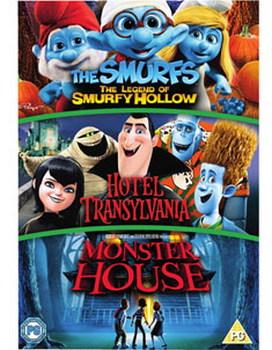 Hotel Transylvania/ Monster House/ The Smurfs: The Legend Of Smurfy Hollow (DVD)