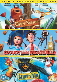 Cloudy With A Chance Of Meatballs/Open Season/Surf'S Up (DVD)