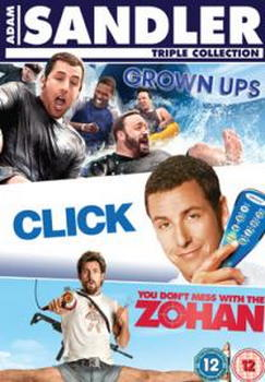 Click / Grown Ups / You Don'T Mess With The Zohan Box Set (DVD)