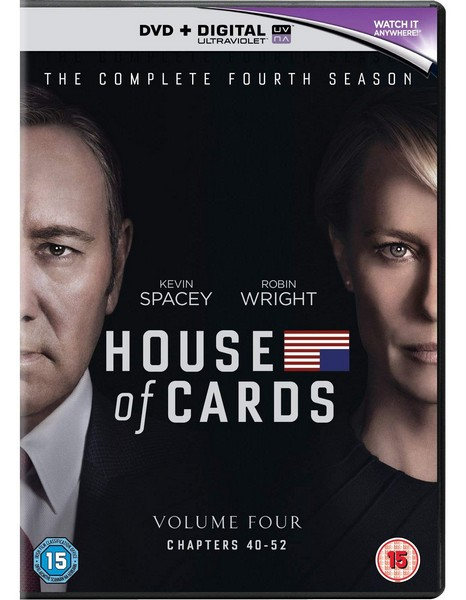 House Of Cards - Season 4 (Red Tag) (DVD)