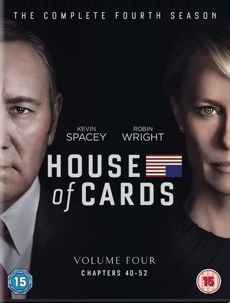 House Of Cards - Season 4 (DVD)
