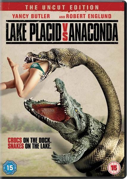 Lake Placid Vs. Anaconda [2015] (DVD)