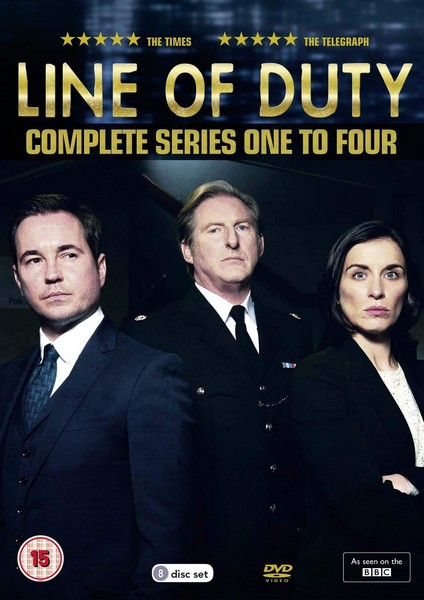 Line Of Duty - Series 1-4 (DVD)