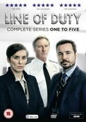 Line of Duty Series 1-5 Boxed Set (DVD)