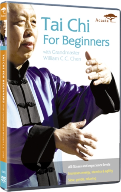 Tai Chi For Beginners - With Grandmaster William C.C. Chen (DVD)