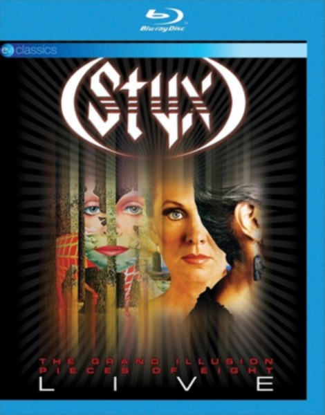 Styx-The Grand Illusion/Pieces of E [Blu-ray] (Blu-ray)