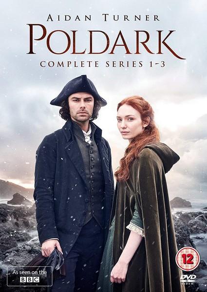 Poldark: Complete Series 1-3 (DVD)
