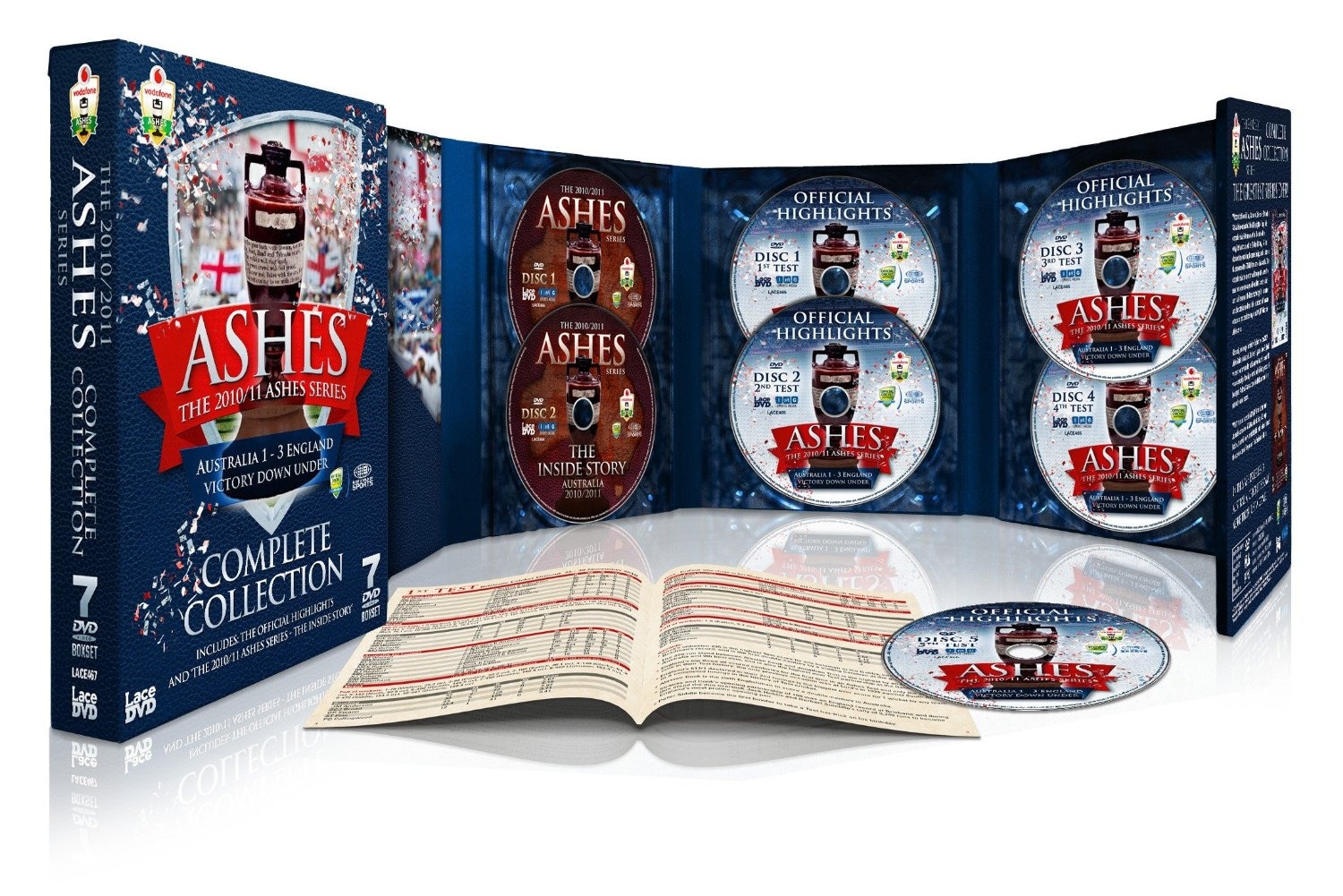 The Ashes - Complete Collection - Australia 2010/2011 (Limited Edition Box Set) (DVD)