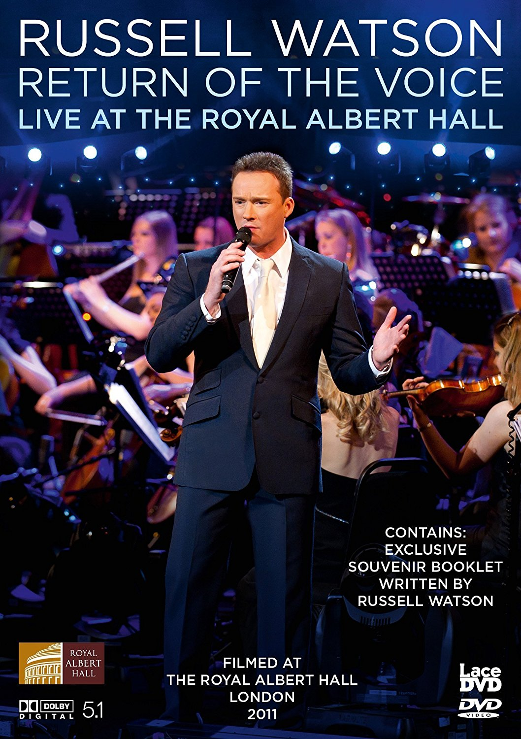 Russell Watson Return Of The Voice - Live From The Royal Albert Hall (DVD)