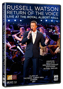Russell Watson - Return Of The Voice - Live From The Royal Albert Hall (DVD)