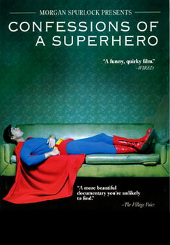 Confessions Of A Superhero (DVD)