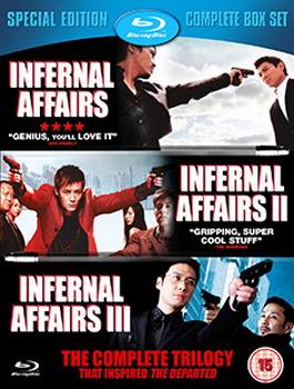 Internal Affairs Trilogy (BLU-RAY)