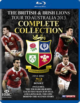 British And Irish Lions Tour To Australia 2013 - Test Series (Blu-Ray)