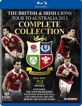 British And Irish Lions Tour To Australia 2013 - Test Series (Blu-Ray)