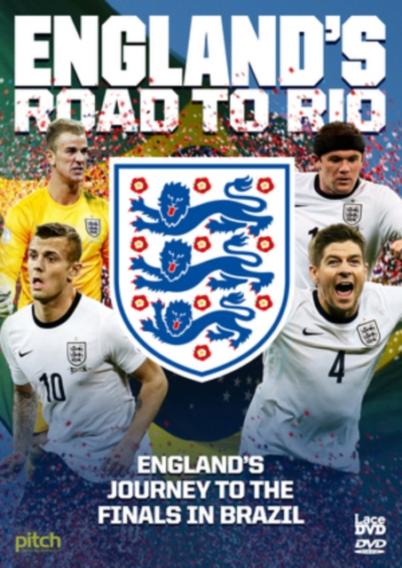 England'S Road To Rio: Brazil World Cup 2014 (DVD)