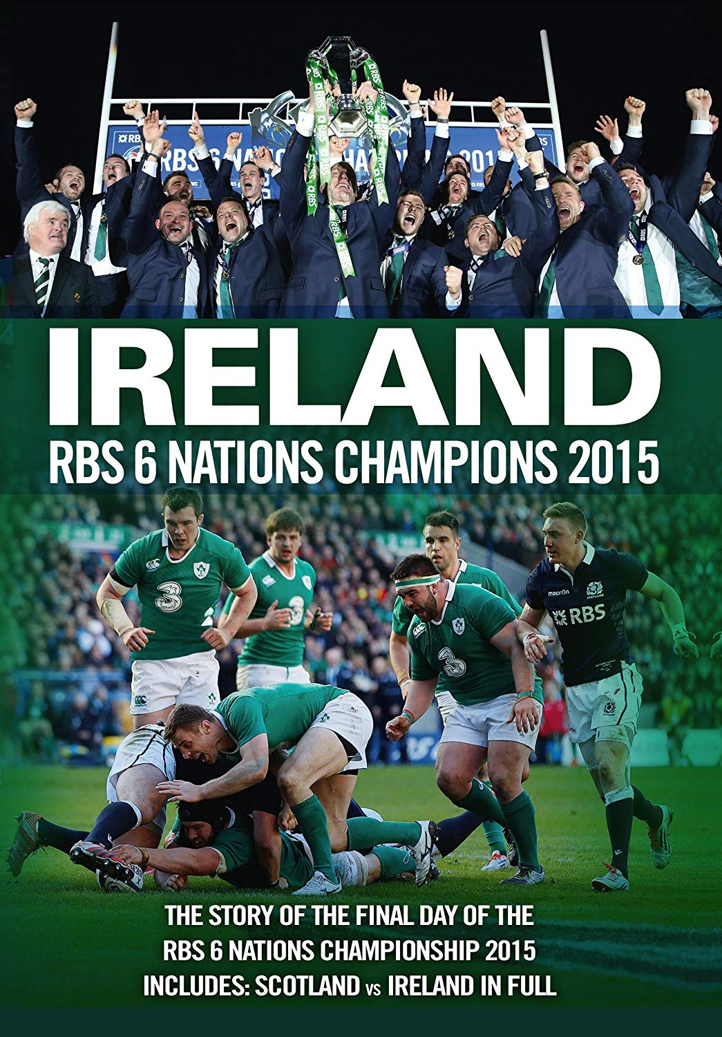 Ireland Rbs 6 Nations Champions 2015 (DVD)