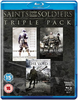 Saints And Soldiers Triple Pack - Limited Edition (BLU-RAY)