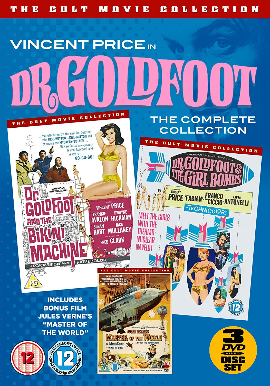 The Dr. Goldfoot Collection (With Bonus Dvd) (DVD)