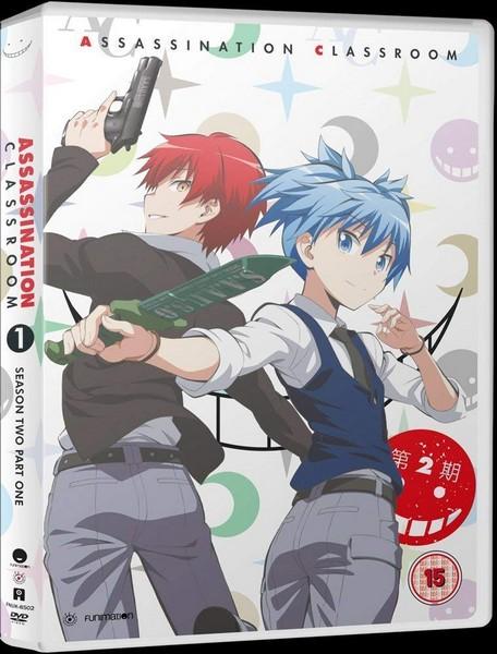 Assassination Classroom: Season 2 - Part 1 (DVD)