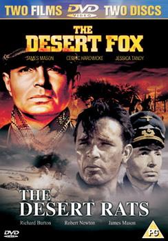 The Desert Fox / The Desert Rats (1953) (DVD)