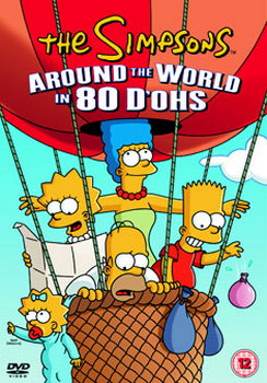 The Simpsons - Around The World In 80 Dohs (DVD)