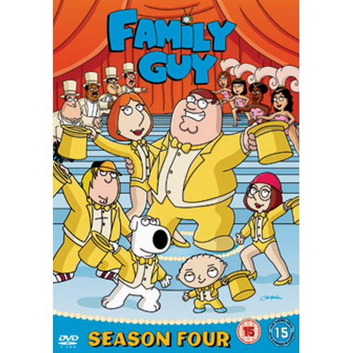 Family Guy - Season 4 (DVD)