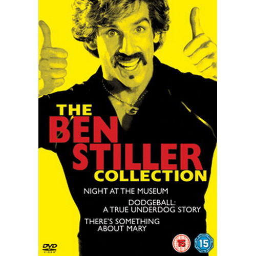 Ben Stiller Collection - Theres Something About Mary / Night At The Museum / Dodgeball (DVD)