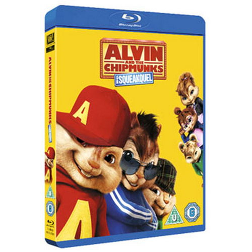 Alvin And The Chipmunks The Squeakquel - Triple Play Edition (BLU-RAY)
