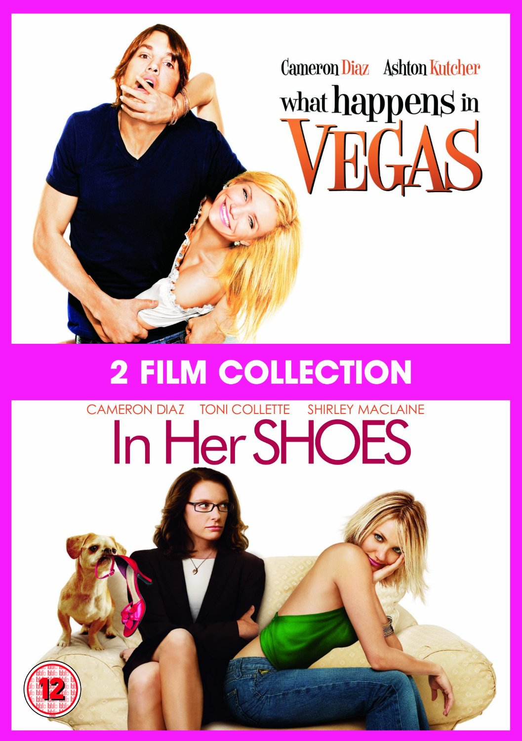 What Happens In Vegas / In Her Shoes Double Pack (DVD)
