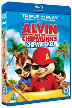 Alvin and the Chipmunks: Chipwrecked - Triple Play (Blu-ray + DVD + Digital Copy)