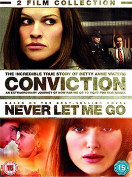 Conviction / Never Let Me Go Double Pack (DVD)
