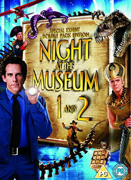 Night At The Museum / Night At The Museum 2 - Escape From The Smithsonian (DVD)