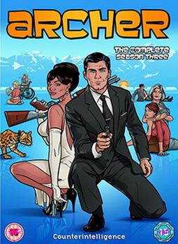 Archer - Season 3 (DVD)