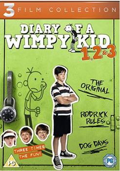 Diary Of A Wimpy Kid 1-3 Boxset (DVD)