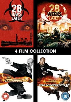 28 Days Later / 28 Weeks Later / Transporter / Transporter 2 (DVD)
