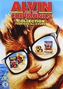 Alvin And The Chipmunks 1-3 [DVD] [2017]