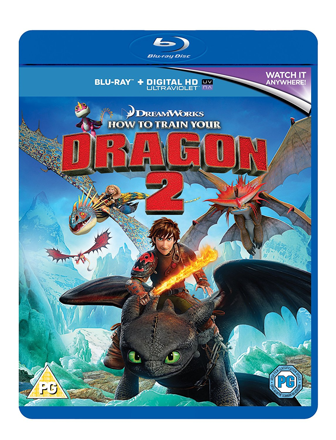 How to Train Your Dragon 2 (Blu-ray + UV Copy)