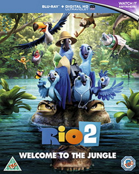 Rio 2 (Blu-ray 3D + Blu-ray + Digital copy)