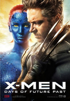 X-Men Days Of Future Past 3D ( Blu-ray )