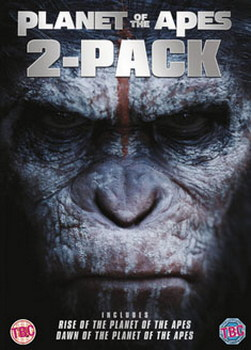 Dawn Of The Planet Of The Apes / Rise Of The Planet Of The Apes [Double Pack] (DVD)
