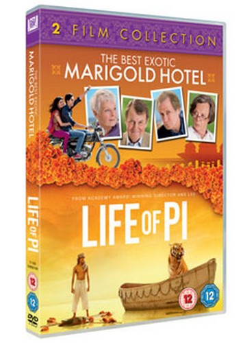 The Best Exotic Marigold Hotel / Life Of Pi [Two Film Collection] (DVD)