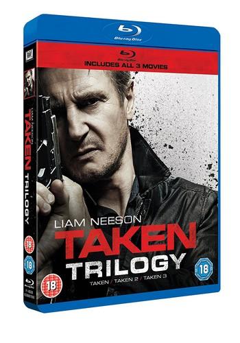 Taken 1-3 Boxset (Blu-ray)
