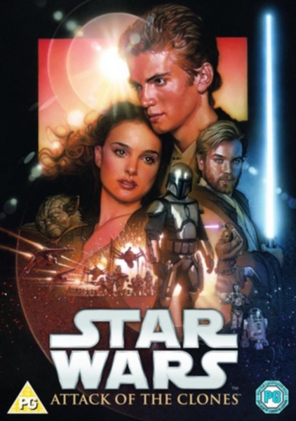 Star Wars : Attack Of The Clones (DVD)