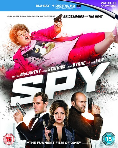 Spy (Blu Ray + Digital HD UV)